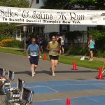 My first 5K in July 2008